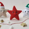Crochet little star