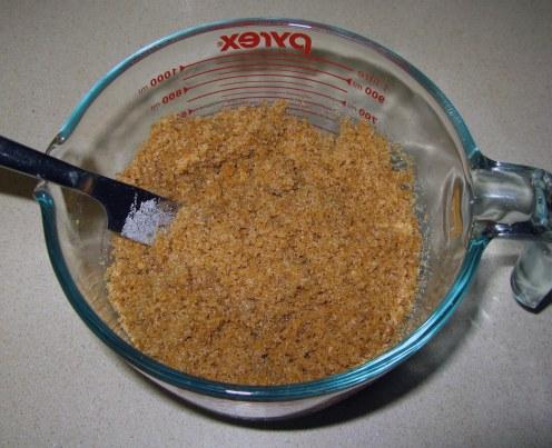 Cookie Crumb Crust Mixture
