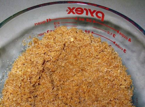 Pressed Cookie Crumb Crust