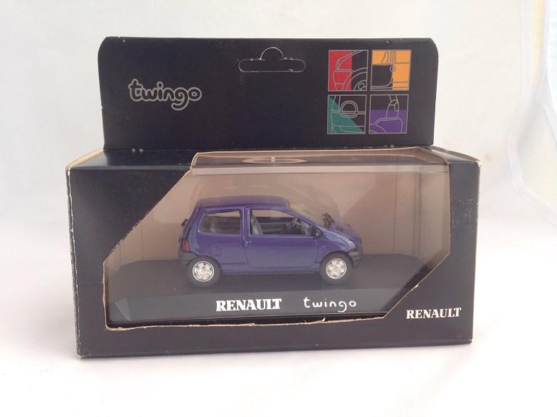 RENAULT TWINGO SOLIDO LAUNCH MODELS 7701418801