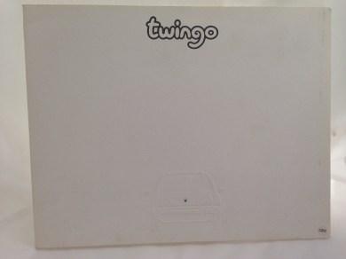 Renault Twingo Press Kit 10/92