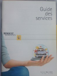 May 2001 Guide des services B 780 129 987