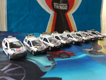 Renault Twingo Police Collection
