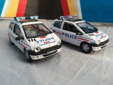 Renault Twingo Police Oliex Hongwell Toys (2)