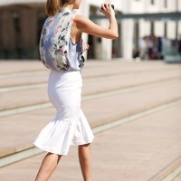 The Peplum Heads For The Hemline