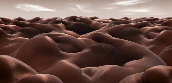Desert of Sleeping Men