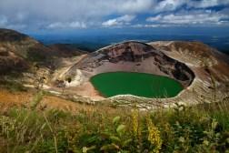 Crater Lake (Okama), Mt. Zao – Honshu, Japan