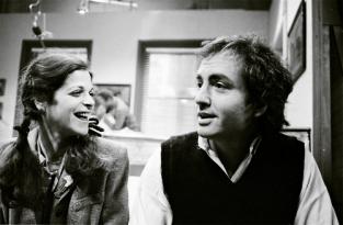 Gilda Radner and Lorne Michaels