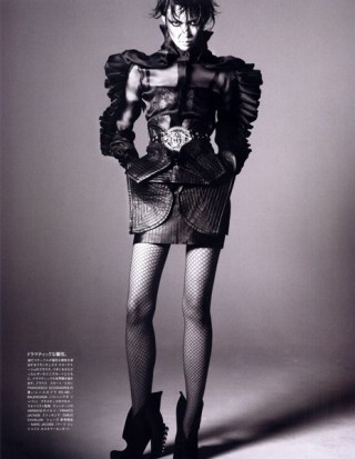 Tao Okamoto in Vogue Nippon November 2009