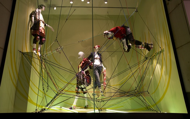 Holt Renfrew Extreme Sport Windows