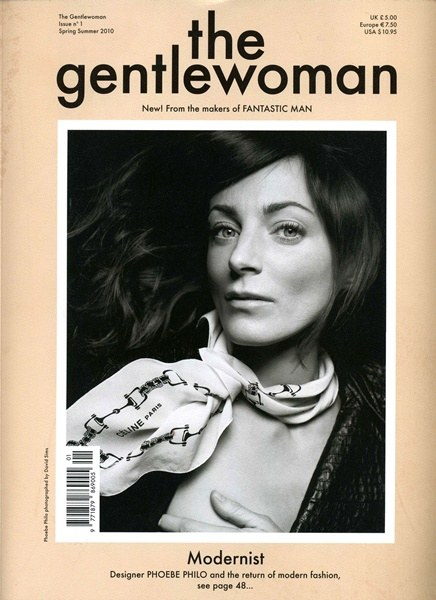 Phoebe Philo by David Sims - The Gentlewoman Spring Summer 2010