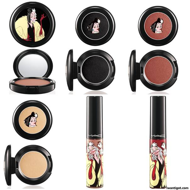 Venomous Villains MAC Cosmetics - Cruella