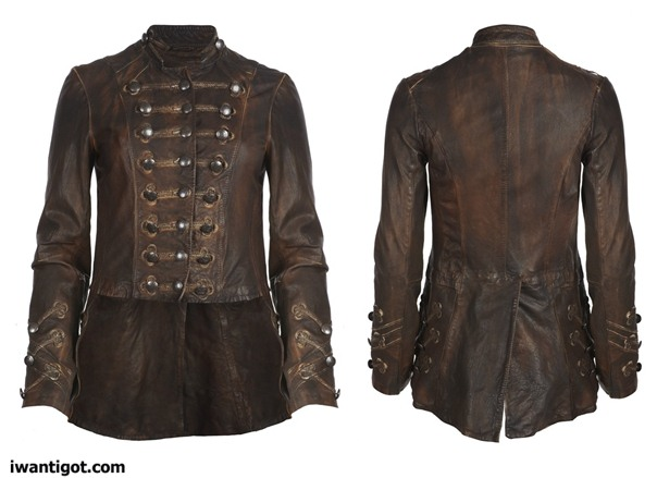 Brocade Military Tailcoat by All Saints