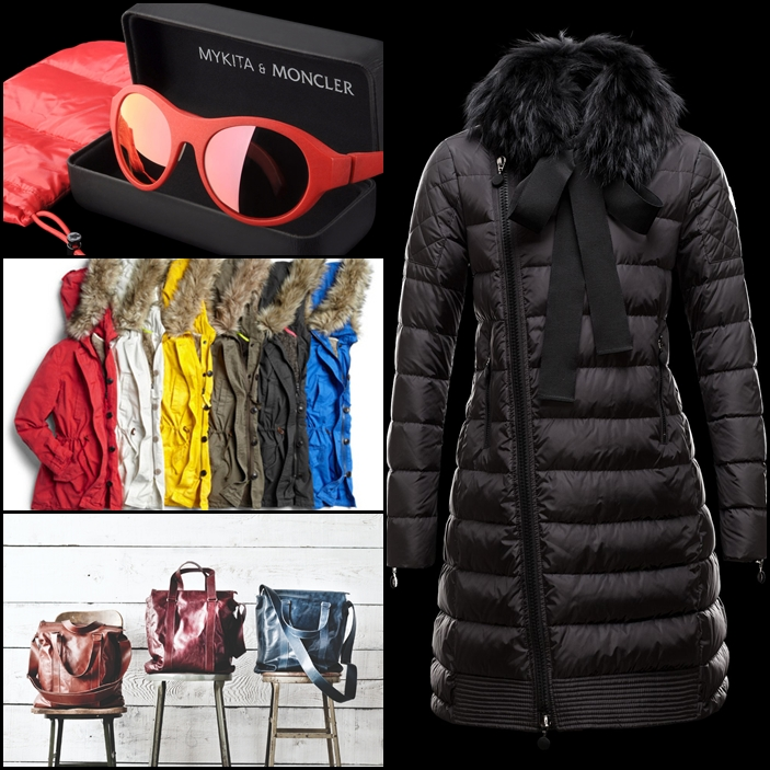 Mykita x Moncler Lino Sunglasses, Gap Twill Parka, m0851 Medium Weekender, Moncler S Mayuko