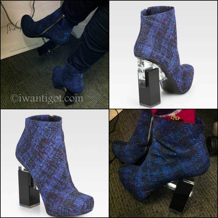 Nicholas Kirkwood x Erdem Ankle Boots