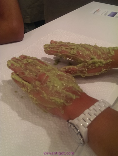 Avocado from Mexico: Do it Yourself Beauty Meetup at Tips Nail Bar