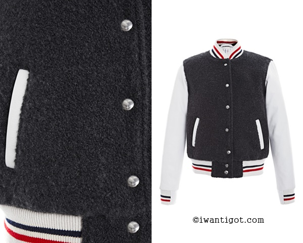 Thom Browne Letterman Jacket