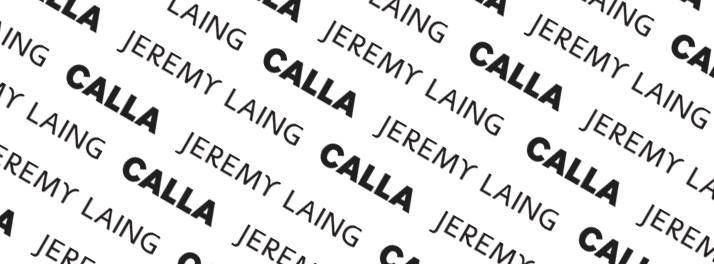Jeremy Laing + Calla Spring Sample Sale - July 5 - 6, 2014