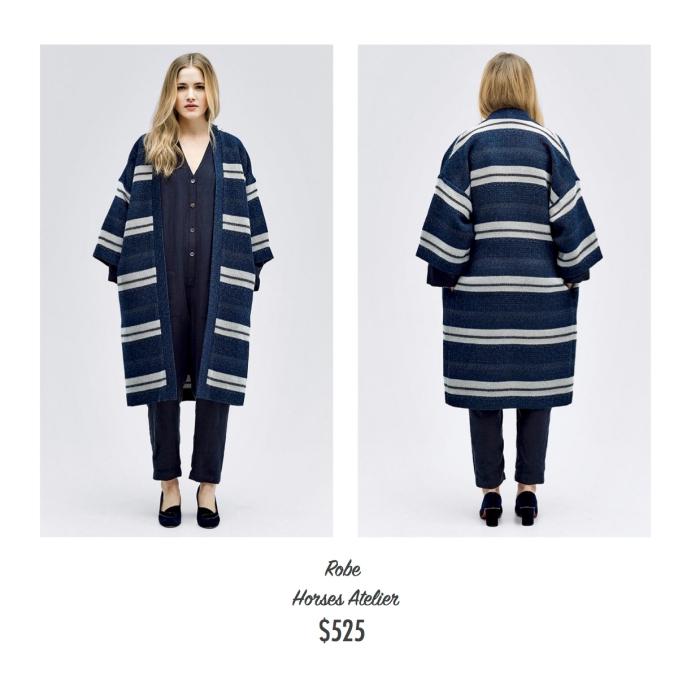 I want - I got 2016 Holiday Gift Guide - Horses Atelier - Robe