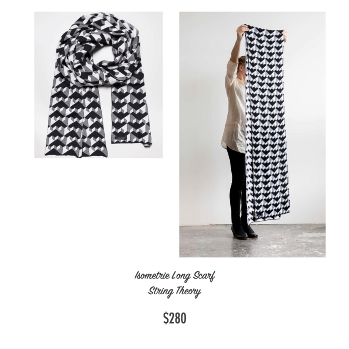 I want - I got 2016 Holiday Gift Guide - String Theory - Long Scarf