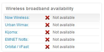 Broadband - How do I find out what broadband is available to me? (5/6)