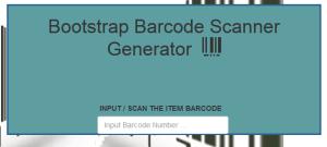 Barcode Generator PHP and MySql Source Code