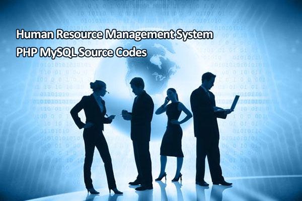 Human Resource Management System PHP MySQL Source Codes