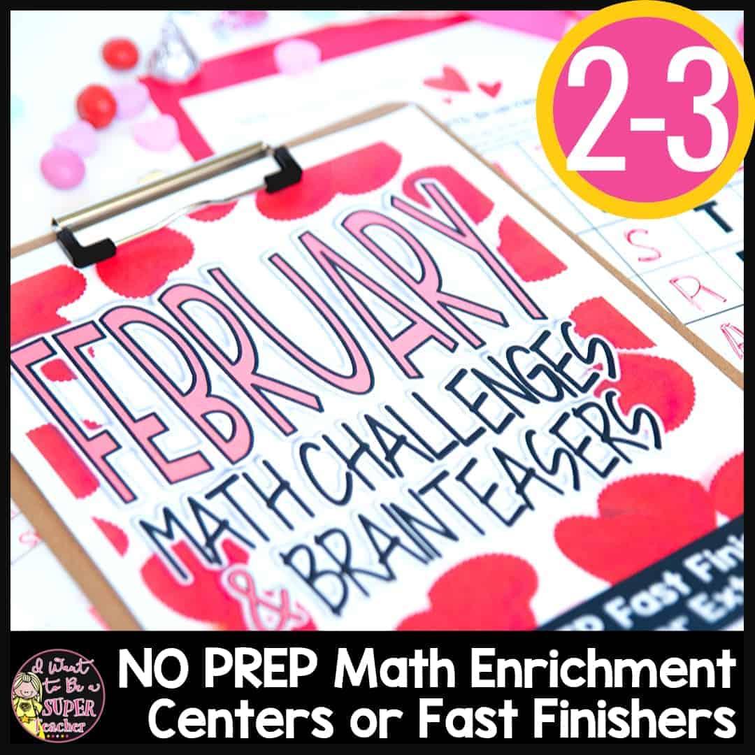 Valentine S Day Math Challenges Amp Brainteasers