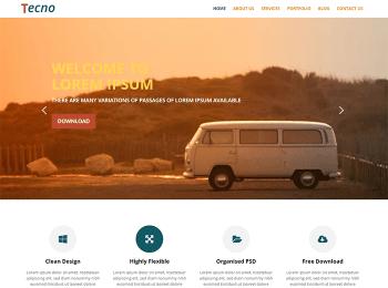 WordPress サンプル2 – 企業サイトサイトアイコン画像