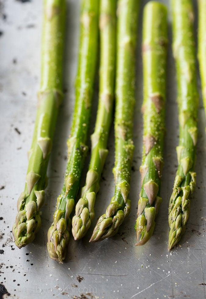 Easy Blender Hollandaise Sauce Roasted Asparagus | I Wash