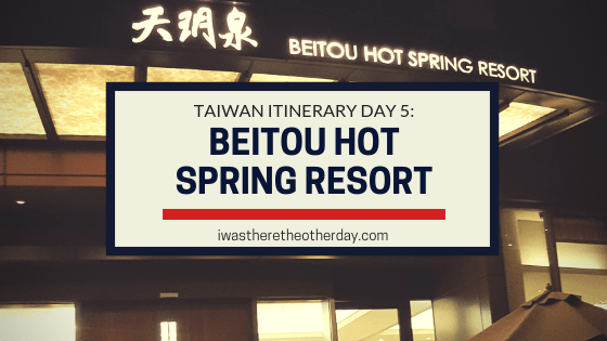 Beitou Hot Spring Resort
