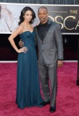 Corinne Foxx and her father Jamie Foxx