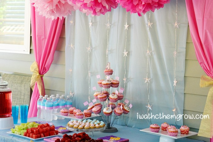 How to create this cheap and cheerful princess party
