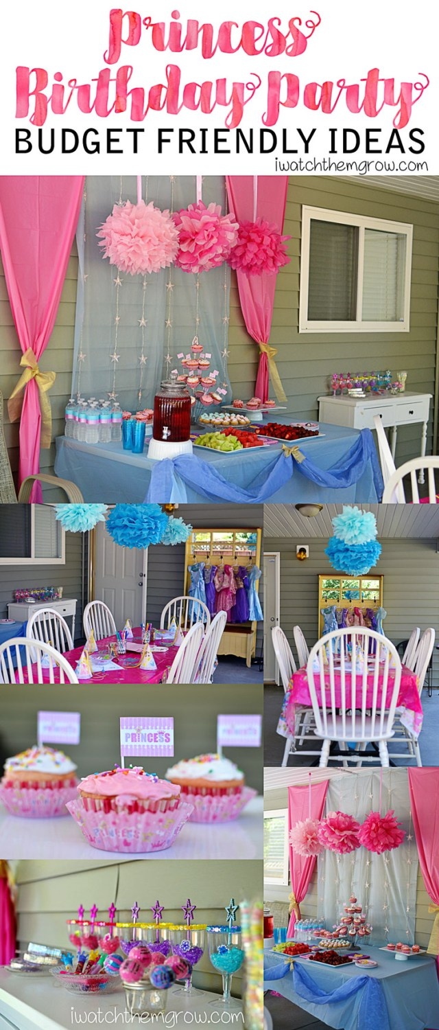 See how I put together this Princess Party for just $26! Click to read the details!