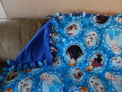 Frozen-fleece-blanket