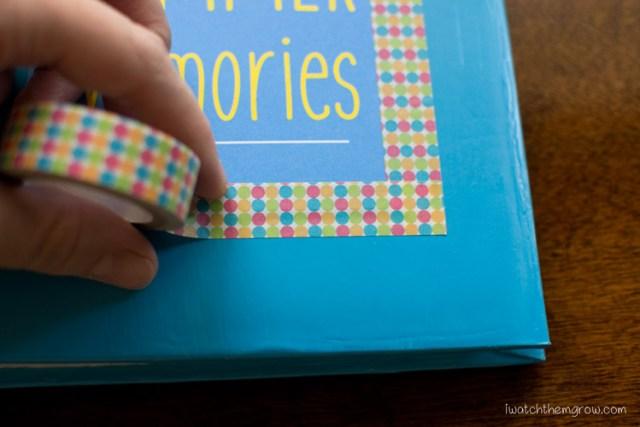 DIY kid's journal album tutorial