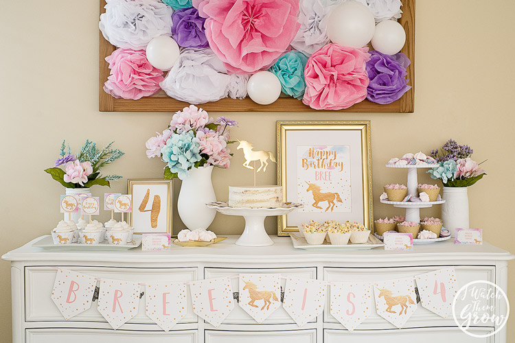 Pretty Unicorn Party