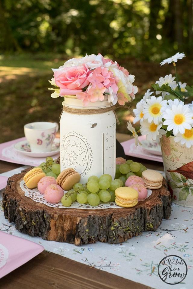 I love these fairy tea party food ideas!