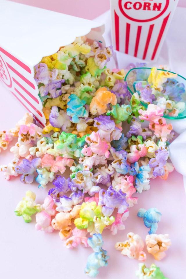 Fun Girl Birthday Party Theme: Popcorn Party