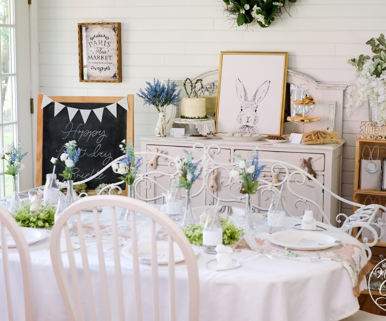 French Country Bunny Party Ideas