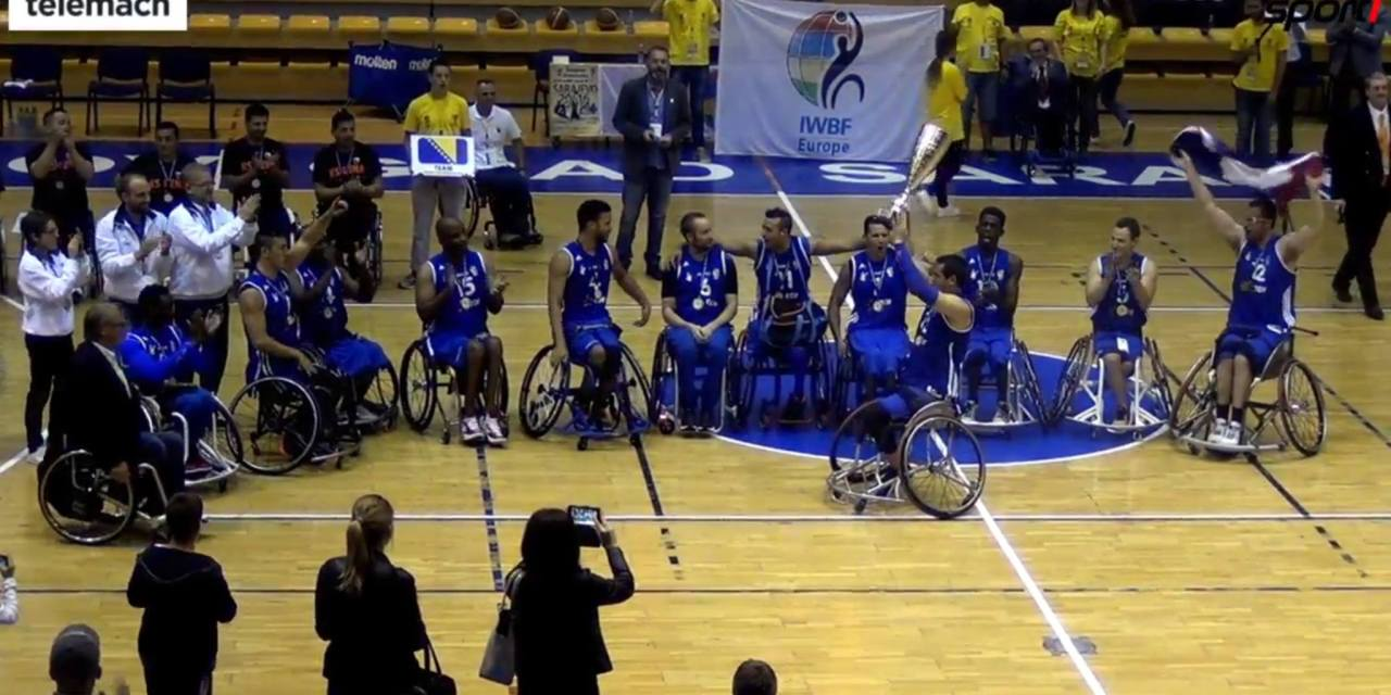 France win European Championships Division B