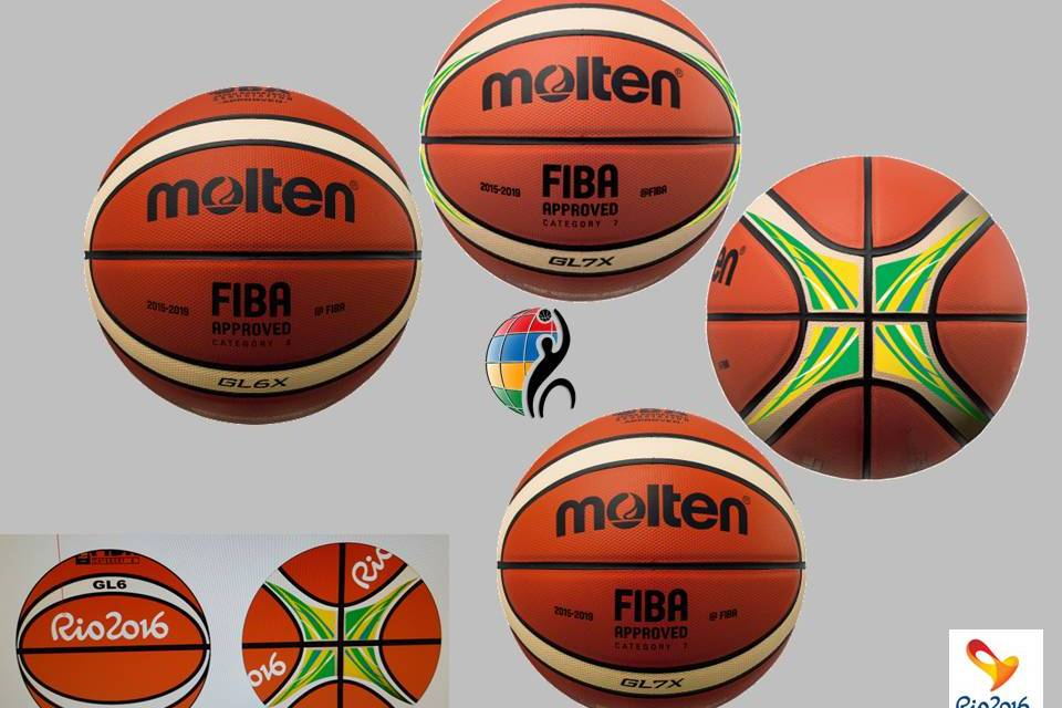 Official ball for Rio 2016 Summer Paralympic Games unveiled