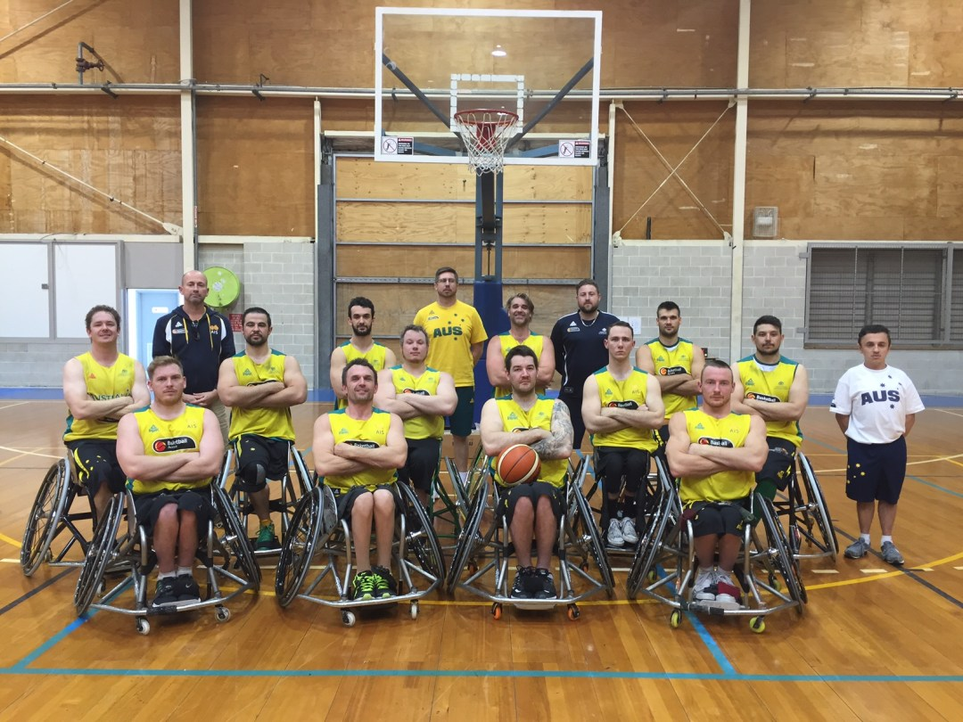 Australia Men's Team for Rio2016
