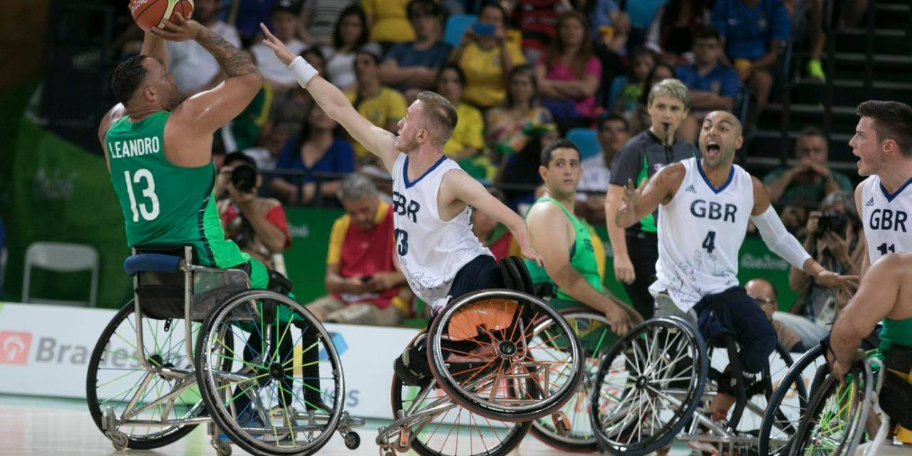 Great Britain men ground out win over Brazil in front of full house