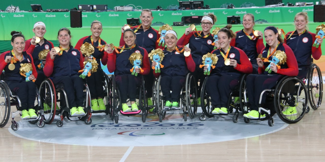 USA women are crowned Paralympic Games champions
