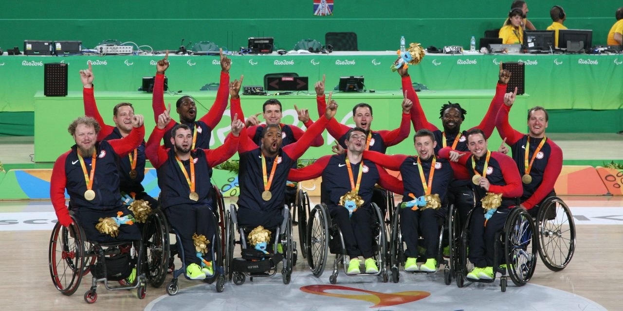 Gold for the USA Men at Rio 2016 Paralympic Games