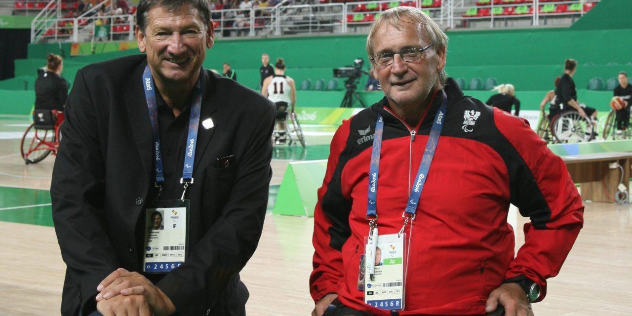 President of IWBF Europe Walter Pfaller proud of European teams performances so far.