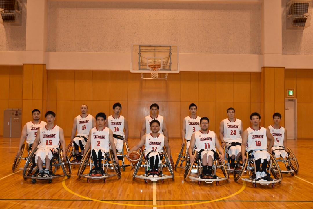 Japan Men's Team for Rio2016