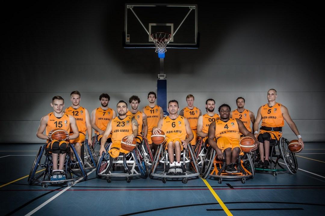 The Netherlands Men's Team for Rio2016