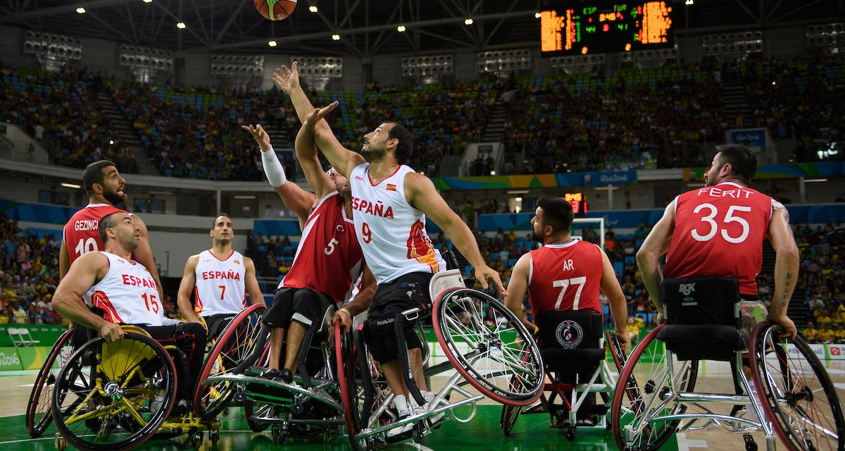 Men's wheelchair basketball quarter finals confirmed for Rio 2016